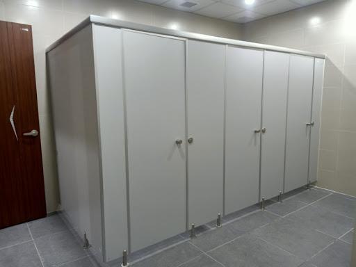 vách ngăn cho khu vệ sinh cải tạo