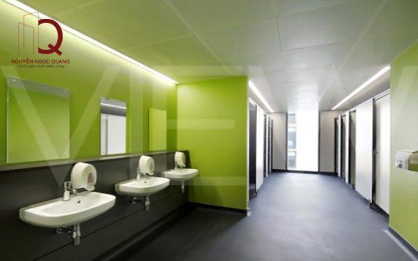 Vách ngăn vệ sinh đẹp - Giải pháp hoàn hảo cho nhà vệ sinh công cộng
