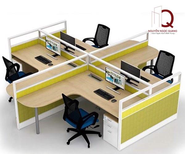 Đặc điểm của vách ngăn bàn văn phòng