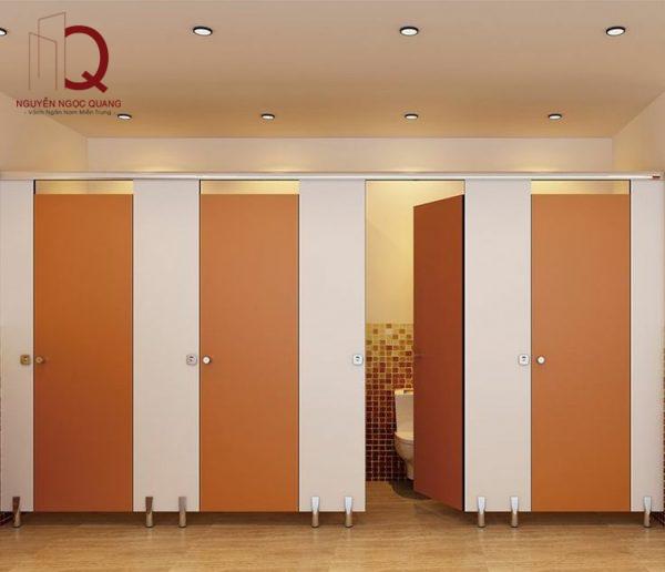 Các loại vách ngăn nhà vệ sinh được tin dùng nhiều nhất hiện nay