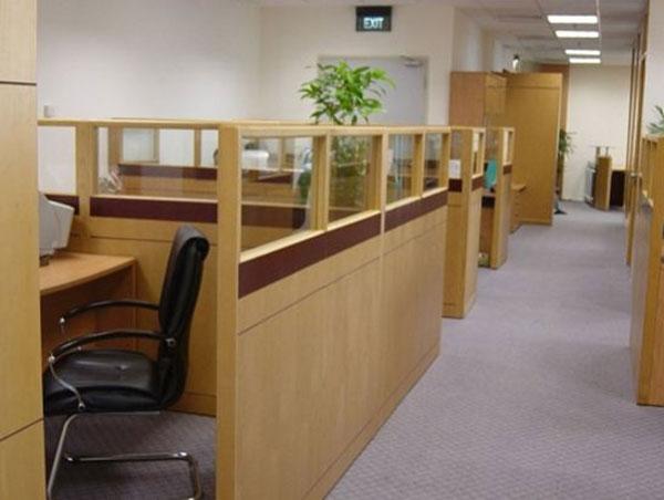 Vách ngăn gỗ văn phòng